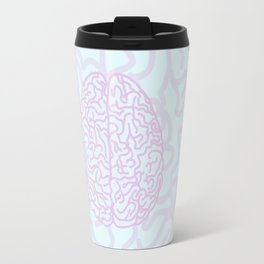 Pastel Brain Travel Mug