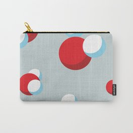 Water Molecules Carry-All Pouch