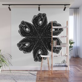 Growl mandala Wall Mural