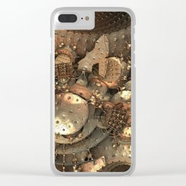 Crash at Roswell Clear iPhone Case
