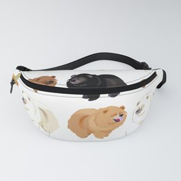 Chow Chow Fanny Pack