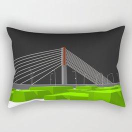 Pasupati Flyover Rectangular Pillow