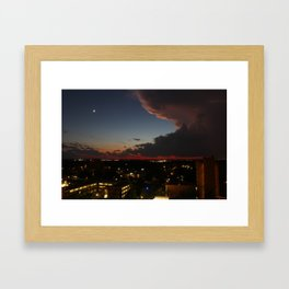 Clouds are neat Framed Art Print