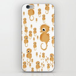 Sea horses Pattern iPhone Skin