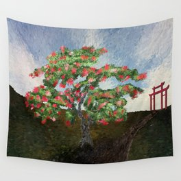 Path of Enlightenment Wall Tapestry