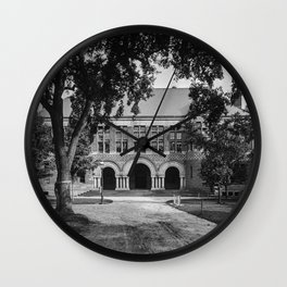 1906 photo of the Law School at Harvard College Wall Clock