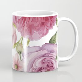 WATERCOLOR ROSES Coffee Mug