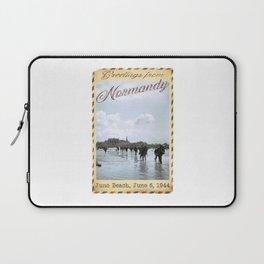 Greetings from Normandy - Juno Beach Laptop Sleeve