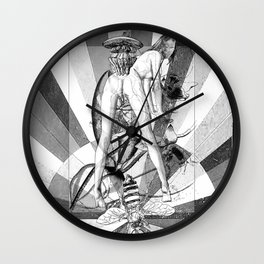 The constellation erotique 2498 Wall Clock