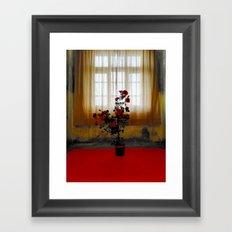 Lonesome Rose Framed Art Print