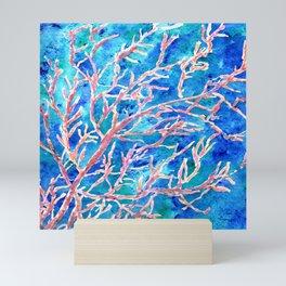Coral Fan Mini Art Print
