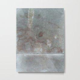 Concrete 2 Metal Print