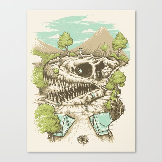 Unexpected Canvas Print