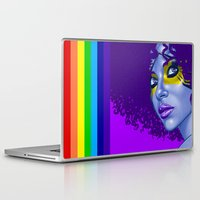 indigo Laptop & iPad Skins featuring INDIGO by Marcus Wild