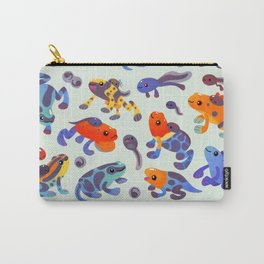 Poison dart frogs - bright Carry-All Pouch