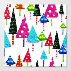Christmas Trees  Canvas Print