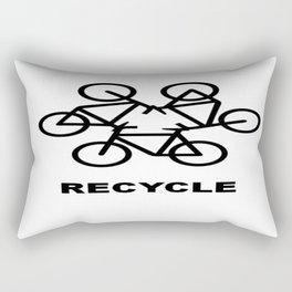 Recycle Rectangular Pillow