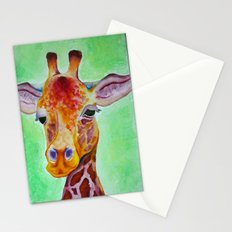 Colorful Giraffe Stationery Cards