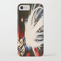 dbz iPhone & iPod Cases featuring DBZ Galaxy by DrewzDesignz