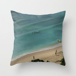 Surf Life Throw Pillow