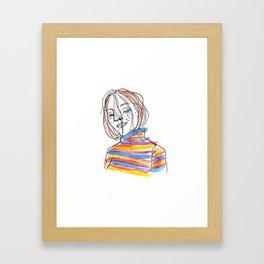 Niamh Framed Art Print