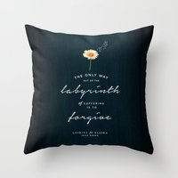 looking for alaska Throw Pillows featuring Looking for Alaska by thatfandomshop