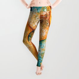 Arancio Leggings