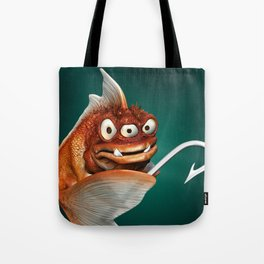Evil Fish Tote Bag