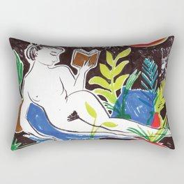 Summer Reading Rectangular Pillow
