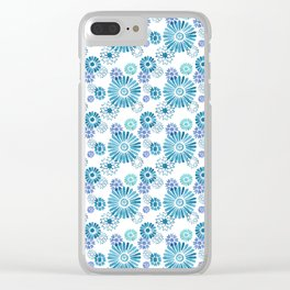 Moroccan Mash Up Clear iPhone Case