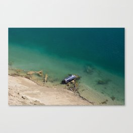 Old, Abandoned and Forgotten Canvas Print