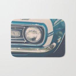 Blue Classic Camaro Bath Mat