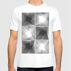 psych Mens Fitted Tee MEDIUM White