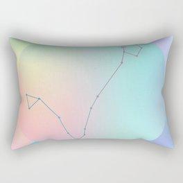 PISCES (ZODIAC SYMBOLS) Rectangular Pillow