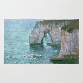 Claude Monet, French, 1840-1926 Manne-Porte, Etretat Rug