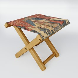 The Lady And The Unicorn Folding Stool