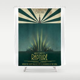 Bioshock - Welcome to Rapture Shower Curtain