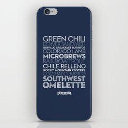 Denver — Delicious City Prints iPhone Skin