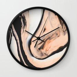 Orlande Marble I Wall Clock