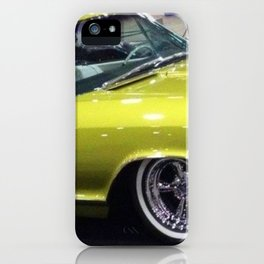 Lime Green Merc 1963 iPhone Case