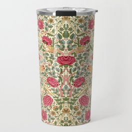 "William Morris ""Rose"" Travel Mug"