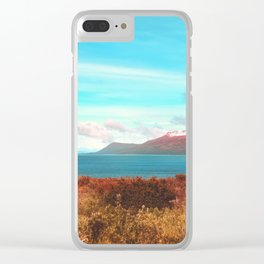 Mountains & Sea Clear iPhone Case
