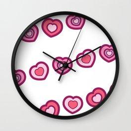 Little Feet, BIG Heart Wall Clock