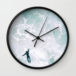 Surf's Up Wall Clock