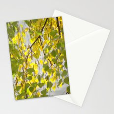 Birch Leaves 7165 Stationery Cards