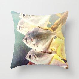 Fish Family Throw Pillow