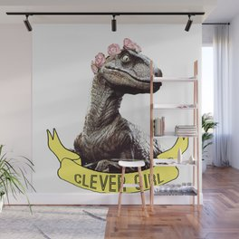 Clever Girl Wall Mural