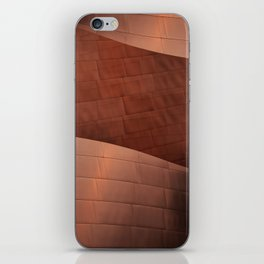 Architectural abstract of the home to the LA Philharmonic, Architect: Frank Gehry iPhone Skin