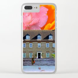 Beachside Property - My Work Here Is Done Clear iPhone Case