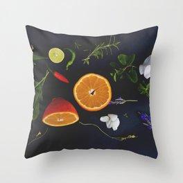 Edible Garden Throw Pillow